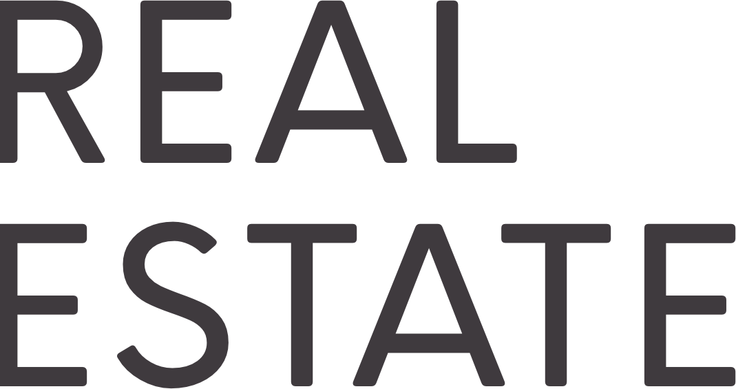 Real estate background text